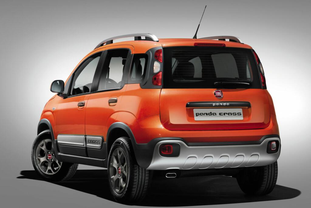 MOTORISERT FJELLGEIT: Fiat har en tradisjon for folkelige små-SUV-er. Nye Panda Cross fortsetter tradisjonen. Foto: FIAT