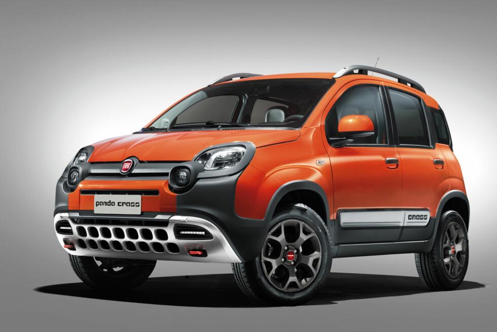 TØFF OG BILLIG: Her er nye Fiat Panda Cross, som fremstår som en ekte røff små-SUV og ikke en forfinet crossover. Foto: FIAT