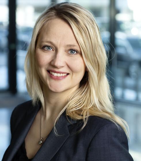 Informasjonssjef Anita Svanes hos VW-importøren er storfornøyd med interessen for nye e-Golf. Foto: VW