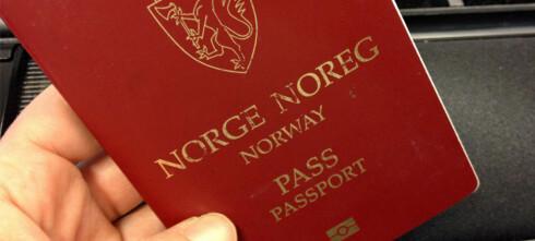 Det norske passet skal bli nytt