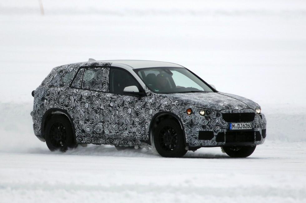 NY NORGESBIL?Nye BMW X1 kommer i 2015. Den vil bli basert på den nye plattformen med forhjulsdrift eller 4x4, som nye Mini og 2-serie Active Tourer. Foto: AUTOMEDIA