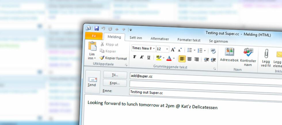 EPOST-AVTALE: Super.cc er nettjenesten som kan gjøre det enklere å legge til nye avtaler i kalenderen. Foto: KIRSTI ØSTVANG