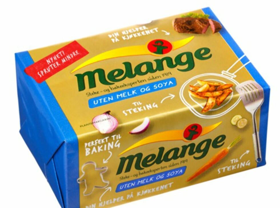 Uten melk og soya: Melange i foliepakke uten melk og soya, til steking og baking, for de som er intolerante mot melk, laktose og soya. Foto: MILLS