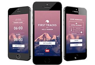 Smarte apper til skiferien