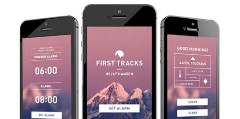image: Smarte apper til skiferien