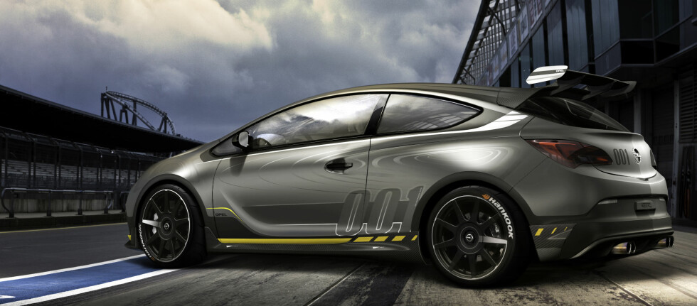 SPINNVILL: Opel Astra OPC Extreme   Foto: Opel