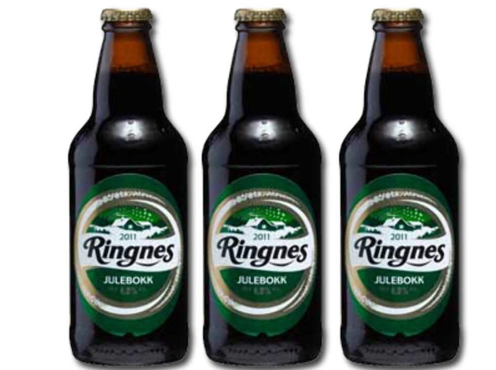Publisert på Matportalen 17. desember 2013: Ringnes har stanset alt salg av Ringnes julebokk med umiddelbar virkning. Årsaken er at om lag fem flasker, i forskjellige utsalgsteder, har knust uten åpenbar grunn. Foto: RINGNES