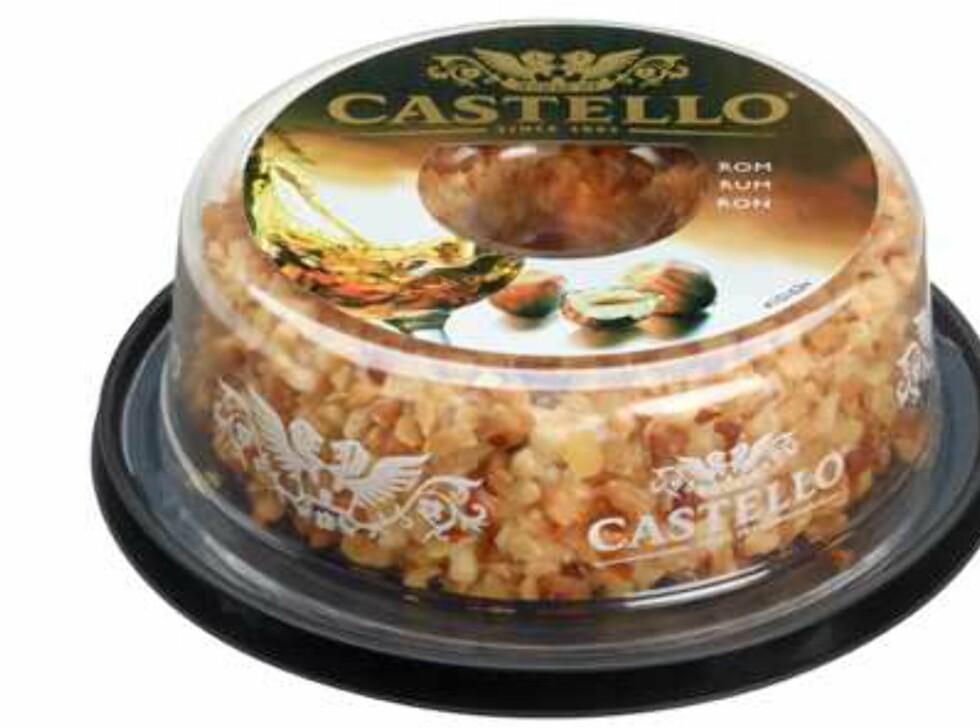 <b>Publisert på Matportalen 16. november 2013:</b> Arla Foods AS trekker tilbake produktet «Castello® kremostring med rom» merket med best før 05.01.2014. Årsaken er funn av Listeria monocytogenes. Foto: Mattilsynet