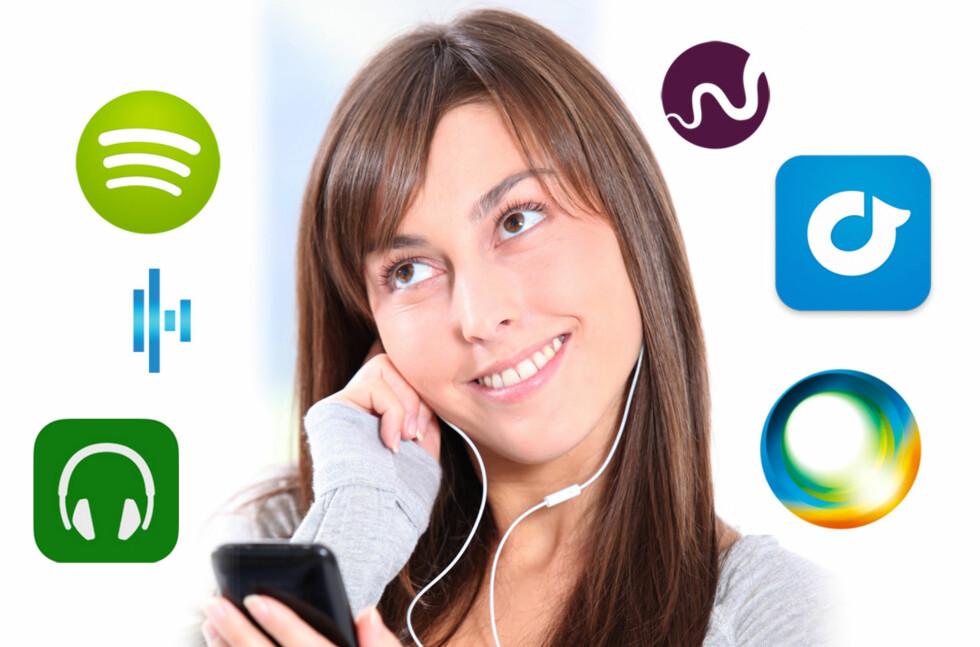 Glem MP3, nå er det streaming som gjelder på mobil.  Foto: ALL OVER PRESS/KIRSTI ØSTVANG
