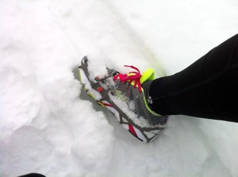 Yaktrax Run: Den beste løpekompisen for deg som løper ute om vinteren. Foto: KRISTIN SØRDAL
