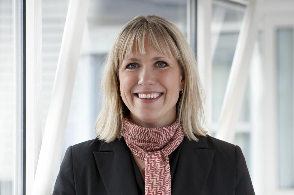 NYE SATSER: Anne-Berit Herstad er i dag ute med et nytt fastrentetilbud til deg som har studielån i Lånekassen. Men det er ingen grunn til å la seg friste. For de fleste lønner deg seg med flytende rente. Foto: Lånekassen