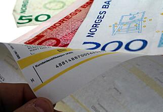 Nordmenn sliter med å betale regningene