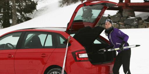 image: Skoda Rapid Spaceback møter norsk vinter