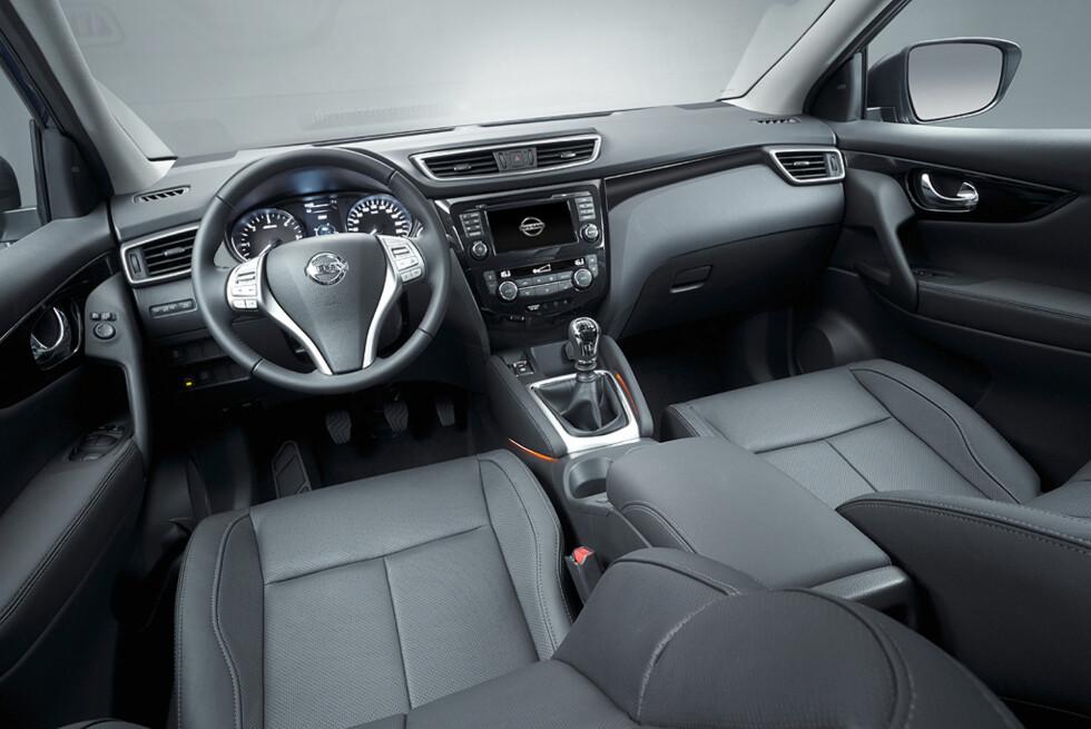 Interiøret er vesentlig forbedret, og er blitt et trivelig sted å være. Foto: Nissan