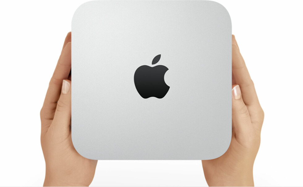 """Mac Mini er en """"stor"""" miniatyrdatamaskin, men er til gjengjeld blant de aller kraftigste."""