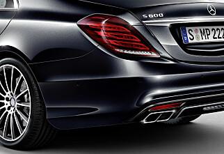 Nyhet: Mercedes-Benz S600