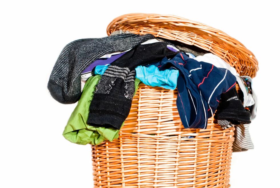 60 GRADER: Du bør ikke slurve med temperaturen, ikke minst ved vask av undertøy og håndklær. Foto: PANTERMEDIA