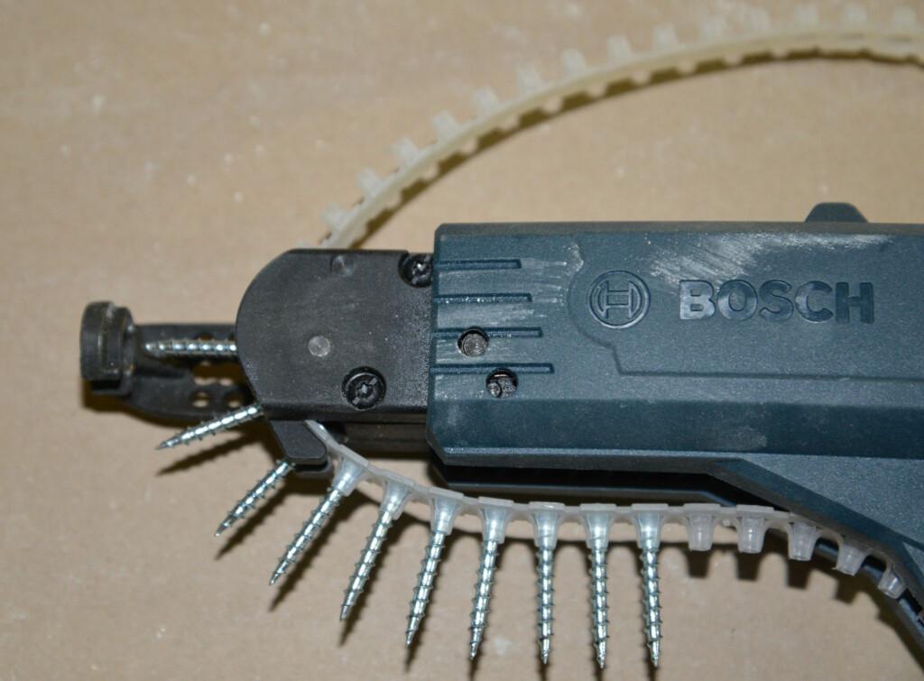 Åpen båndføring samler lite støv og er lett å blåse ren. Foto: Brynjulf Blix