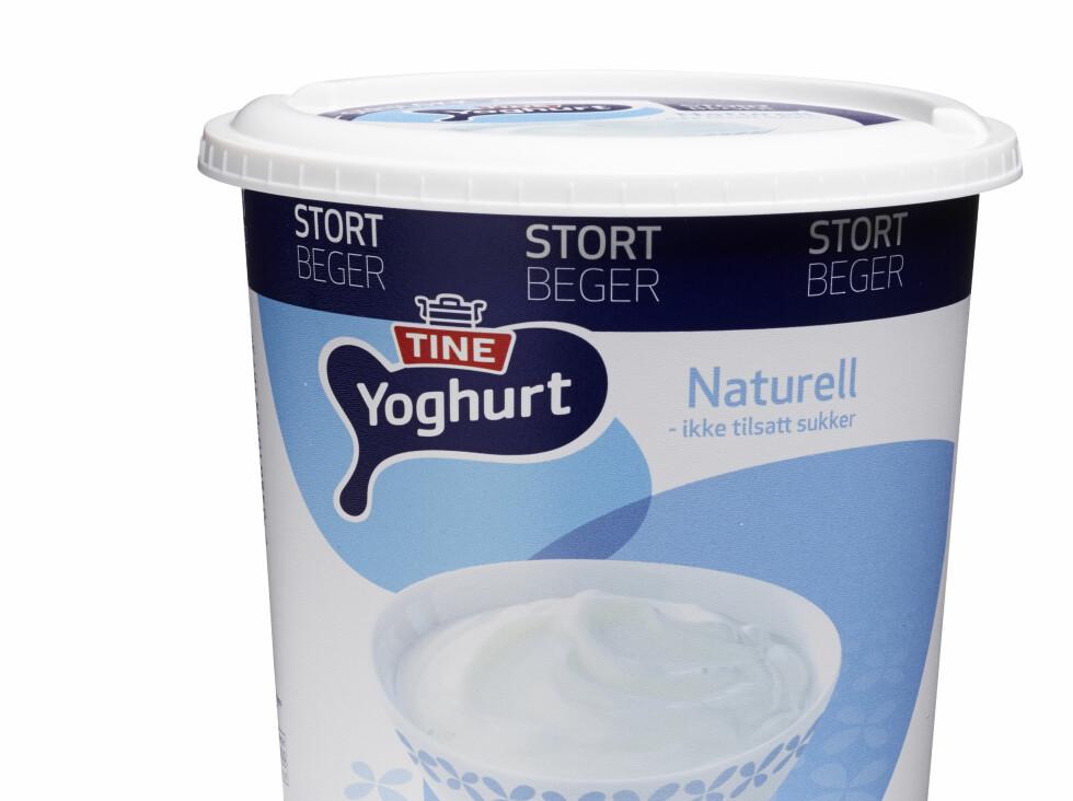 Mer som skal være enklere å åpne og lukke: Yoghurt med skrulokk. Du har kanskje sett noe liknende på rømmeboksen? Foto: TINE