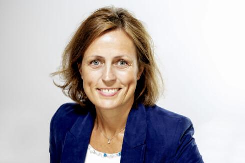SNOKER IKKE:  Kommunikasjonsdirektør Ingebjørg Tollnes i Komplett sier de ikke åpner kundenes private filer.  Foto: MORTEN RAKKE/KOMPLETT