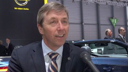 Opel-sjef Bernt G. Jessen Foto: PER ERVLAND