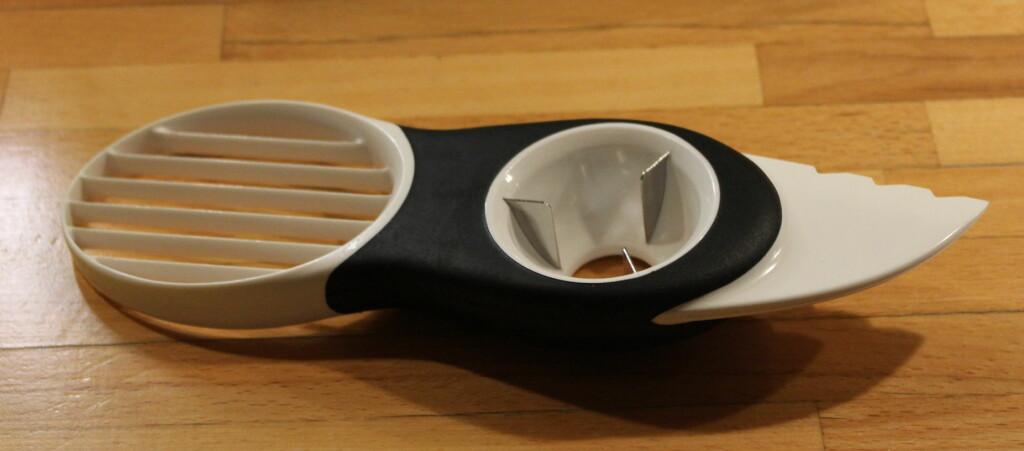 Tre-i-en-kniv fra Oxo.  Foto: Elisabeth Dalseg