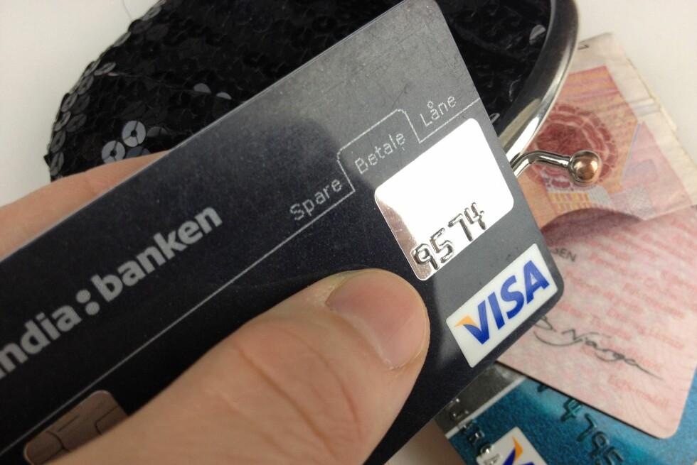 Har kredittkortgjelden tatt overhånd?  Foto: BERIT B. NJARGA