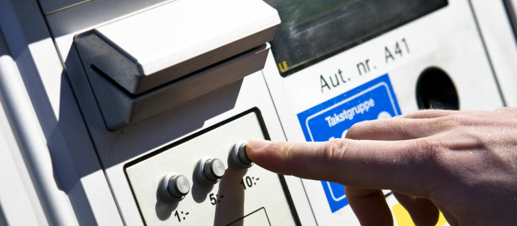 Parkeringsautomaten kan nå bli historie.  Foto: Colourbox