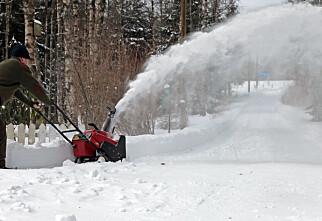 Utstyret som gjør snømåkingen lettere