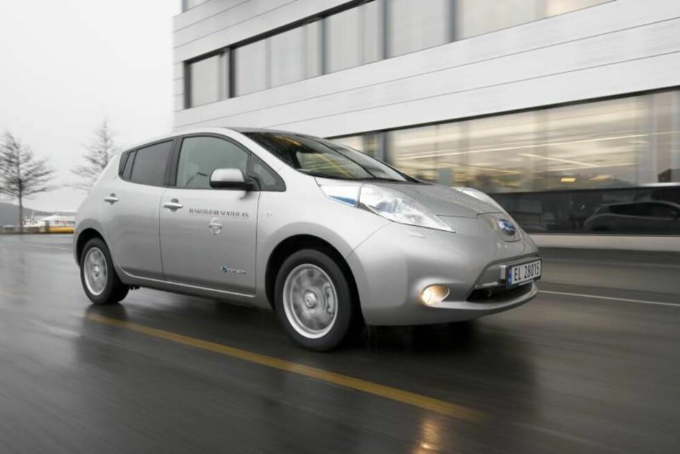 Nissan Leaf Foto: Jamieson Pothecary / Autofil