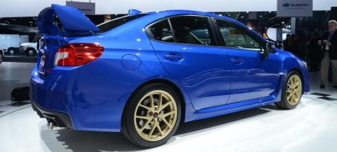 Helt ny Subaru WRX STI