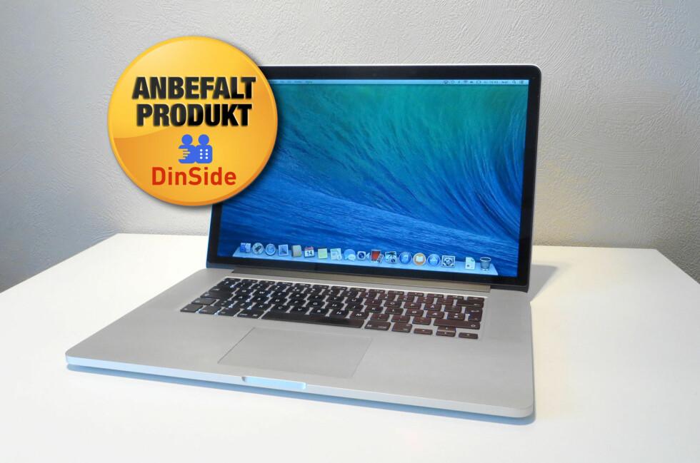 Nye MacBook Pro er det beste Apple har laget på bærbar-fronten. Men den passer ikke alle, først og fremst på grunn av prisen. Foto: Bjørn Eirik Loftås