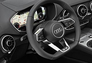 Her er interiøret i neste Audi TT
