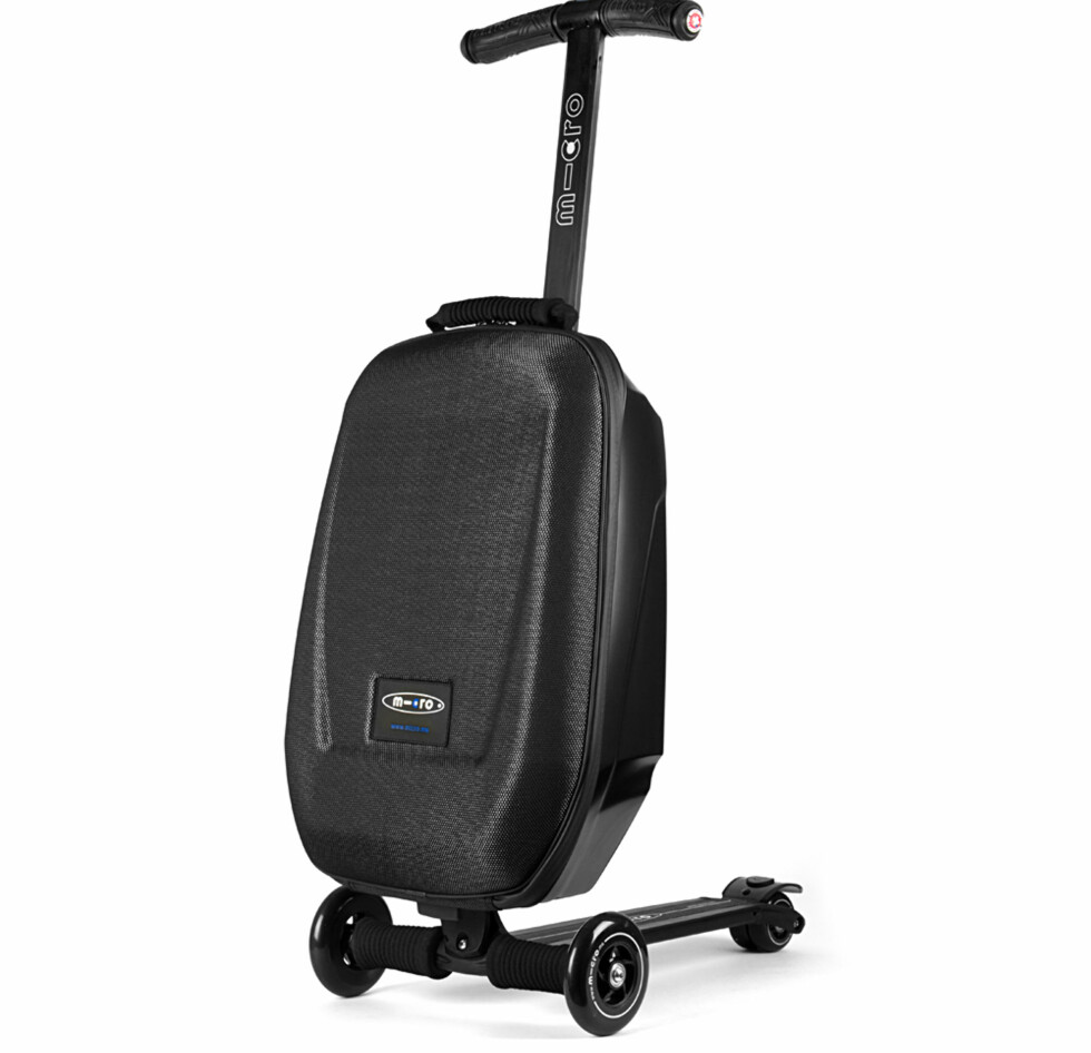 Micro Luggage skal tåle en vekt på 100 kg. Foto: Antonsport.no