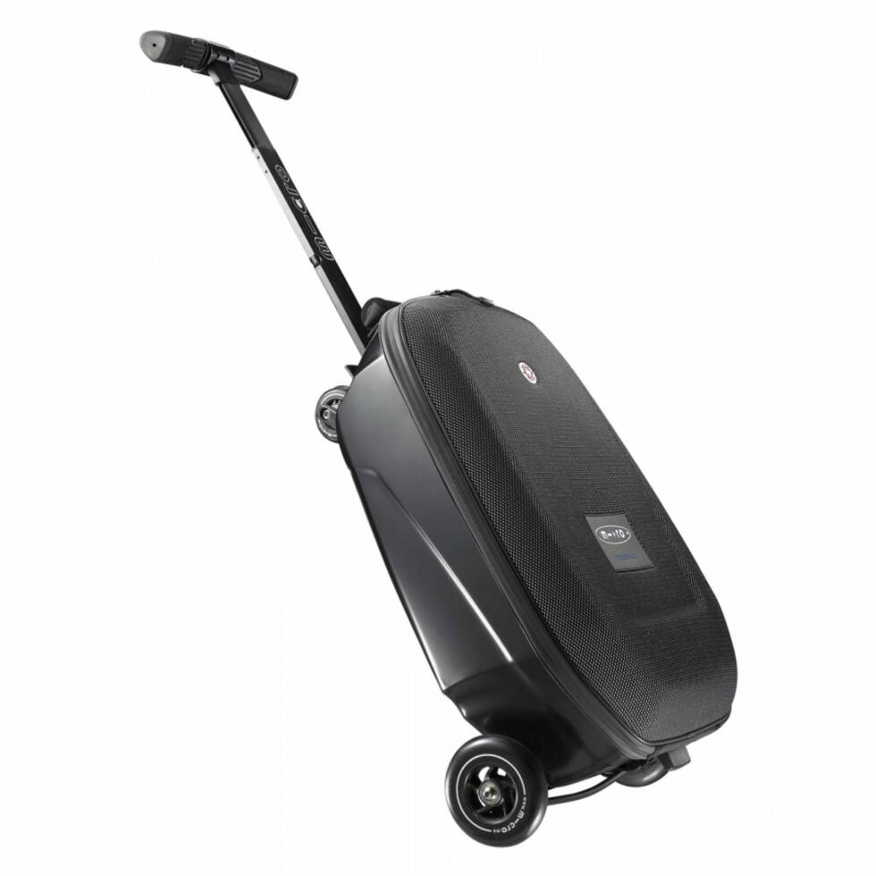 Micro Luggage kan også trilles til fots.   Foto: Antonsport.no