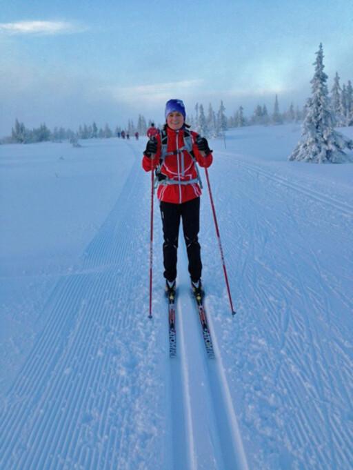 TREN SAMMEN: Hanne Lyngstad i Adidas sier at å trene sammen med andre kan være en god løsning for å opprettholde en rutine.  Foto: Hanne Lyngstad