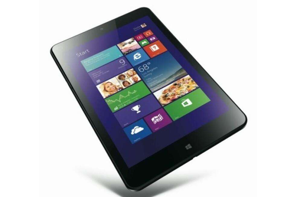 Er dette det mest spennende Windows 8.1-nettbrettet så langt?  Foto: Lenovo