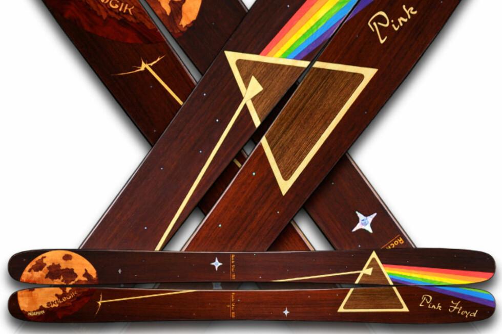 LEKKERT: Er du glad i alpint og liker Pink Floyd, tipper vi du har lyst på disse.  Foto: Skilogik.com