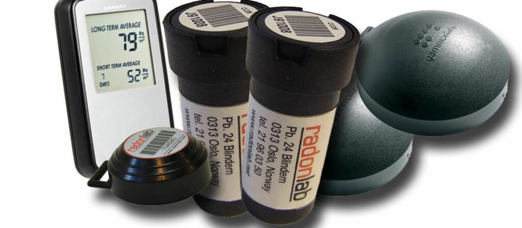 <b>KRAV TIL RADONMÅLINGER:</b> Fra 1. januar 2014 stilles det krav til grenseverdier for radon i blant annet utleieboliger. Det er huseiers ansvar at målinger og eventuelle utbedringer er på plass. Målinger kan enkelt gjøres ved hjelp av sporfilm, som avbildet. Foto: Produsentene