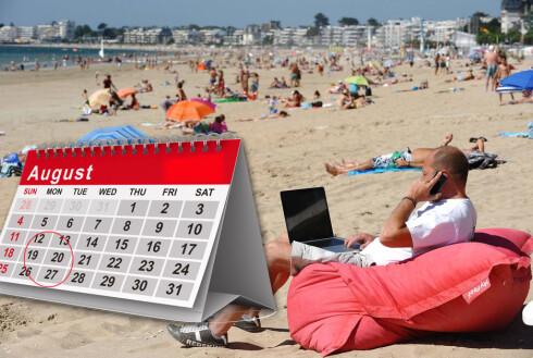 Skolestart for noen - starten på den billige feriesesongen for andre! Foto: COLOURBOX.COM/KRISTIN SØRDAL
