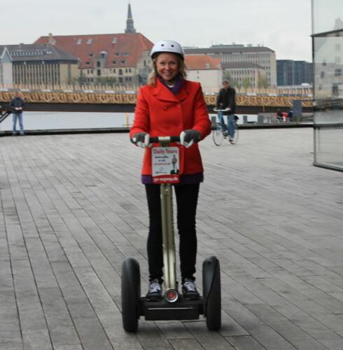 DinSide har testet Segway i Københavns gater. Konklusjon: dette bør du prøve! Foto: Kristin Sørdal
