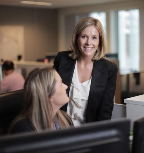 Kristina Picard oppfordrer folk til å passe på kredittkort-rentene i det nye året.  Foto: Storebrand