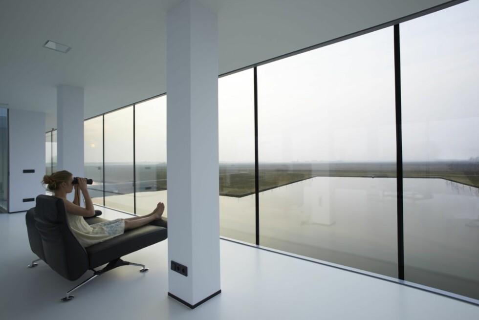 FIN UTSIKT: En avslappet søndag blir sannsynligvis ekstra avslappende med denne utsikten. Foto: Arkitekten
