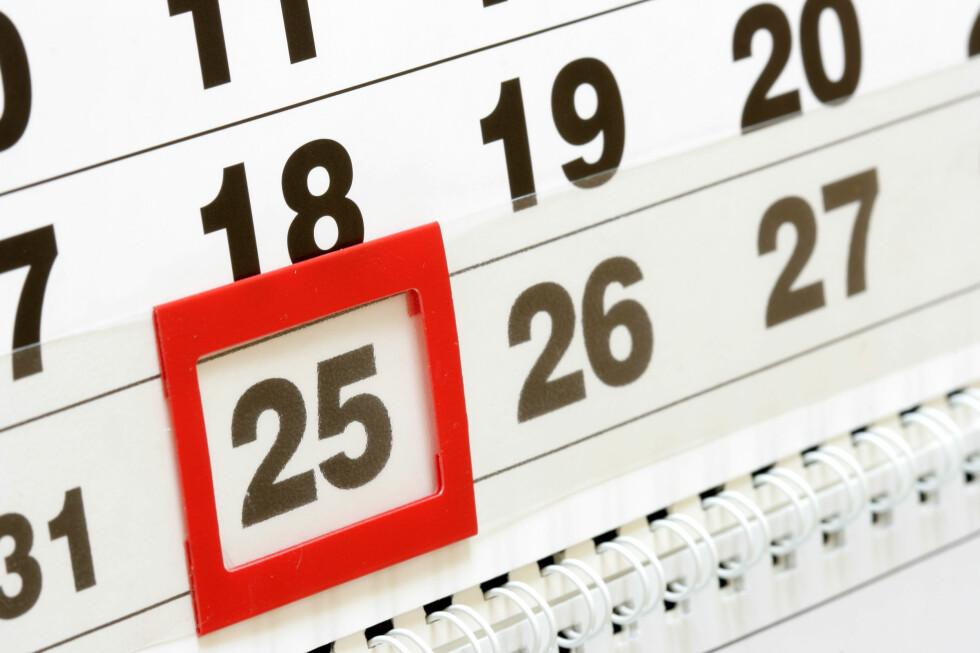 Må du jobbe etter klokken 15.00 på julaften, regnes det som helgearbeid. Foto: Colourbox.com