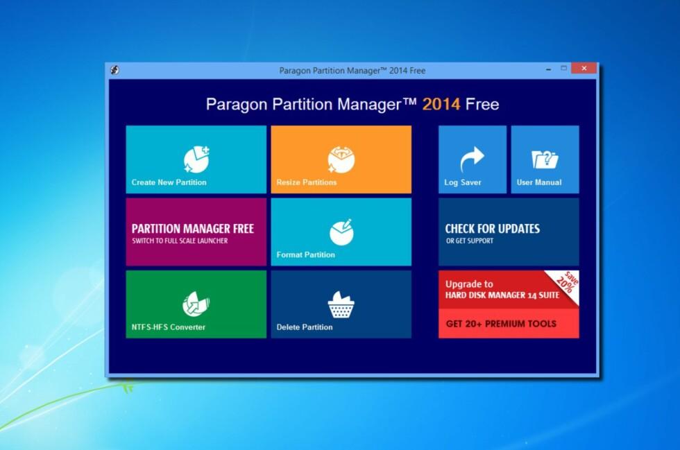 PENT: Med sitt flise-aktige grensesnitt passer programmet godt inn i Windows 8 sin berøringsverden. Foto: Bjørn Eirik Loftås