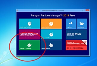 Paragon Partiton Manager 2014 Free