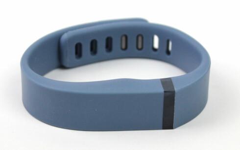 IKKE FOR ALLE: Et treningsarmbånd som Fitbit Flex kan være nyttig for noen, og en kjekk påminner om at man skal bevege seg mer. Foto: KIRSTI ØSTVANG