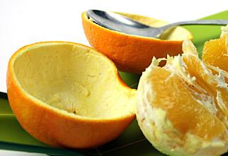 Smarte måter å skrelle appelsiner