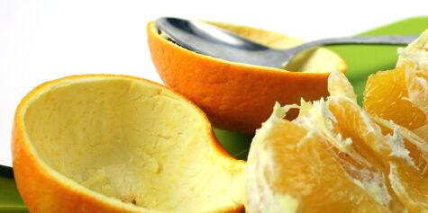 image: Smarte måter å skrelle appelsiner