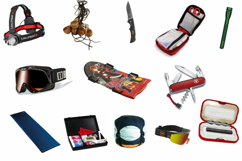 NOE FOR ENHVER: Har du mange fritidsinteresserte familiemedlemmer du må gi gaver til, kan du muligens finne noe her.  Foto: Produsent